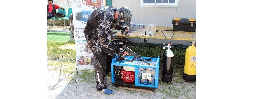 Paintball compressors