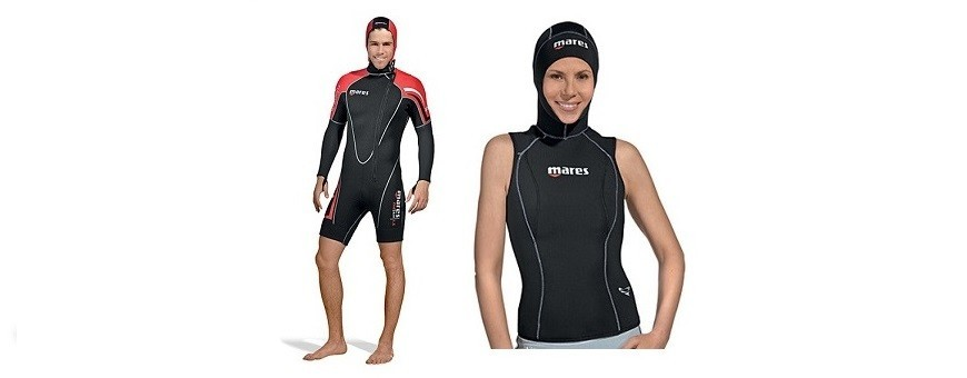Wetsuits and rash guard