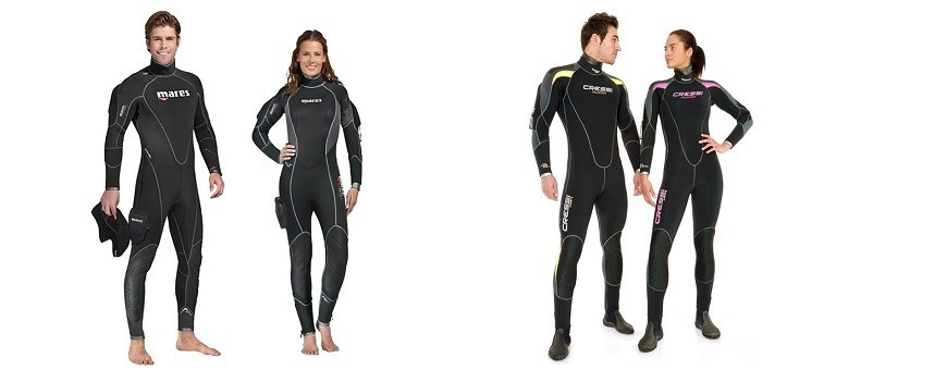Semi-dry suits