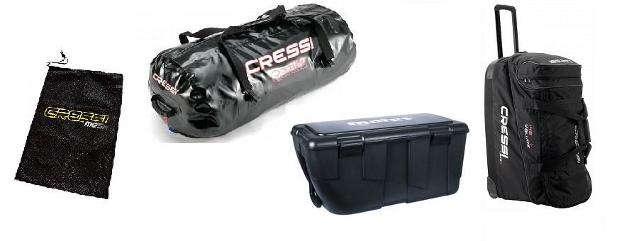Bags, Mesh bags, Diving boxes